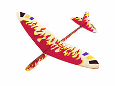 Lanyu Hand Launch Balsa Wood Glider Plane DIY Build&Paint Model Kit, US 7007