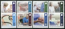 More details for isle of man iom medical stamps 2020 mnh who yr of nurse & midwife nursing 8v set