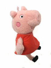 Peppa Pig Plush in Red Dress 14'' Licensed Stuffed Animal Toy