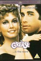 Grasa John Travolta Olivia Newton-John Paramount GB DVD & Songbook Nuevo