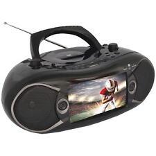 "Naxa NDL-287 Bluetooth DVD Boombox & TV 7"" w/Remote & AC Power Cable"