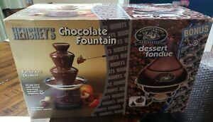 Hershey's Chocolate Fountain with Bonus Dessert Fondue maker