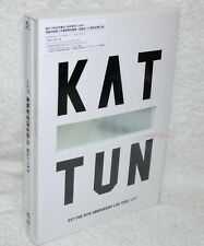 KAT-TUN 10TH ANNIVERSARY LIVE TOUR 10Ks Taiwan Ltd 2-DVD+CD+124P booklet