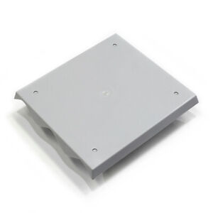 Mounting plate for corrugated iron 3 span Tough molded ABS,UV Resistant in Grey