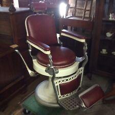 Vintage Barber Shop Chair by Emil J. Paidar Chigago