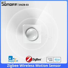 Sonoff snzb - 03 ZigBee Wireless Sensor de movimiento PIR casa inteligente detectores de seguridad