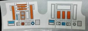 R5D4 REPLACEMENT DECAL A+++ QUALITY PERFECTION DIE CUT READY TO STICK NO CUTTING