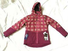 NEW Boulder Gear Jules Jacket - Youth/Girls Size L - Maroon Flicker Print