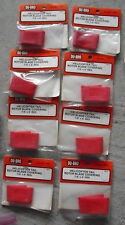 Lot of 8 Packs R/C Parts Du-bro Helicopter Red Tail Rotor Blade Covering 470 NIP