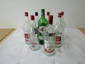 Empty Bottles 1.5L Optic /upside down/Arts & Craft /Man Cave/lights/up cycle