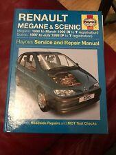 Renault Megane Scenic Haynes Petrol and Diesel Service manual