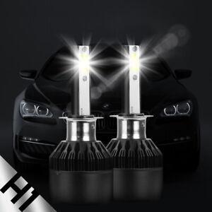 1pair H1 LED Headlight Kit led lamp 388W 38800LM 6000K COB Beam Bulbs High Power