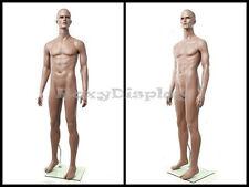 Fiberglass Chocolate Muscular Male Mannequin Manikin Dress Form Display #ZEKE1