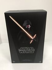 """Star Wars Hot Toys KYLO REN MMS320 1/6th Scale 12"""" Figure Force Awakens Nice!"""