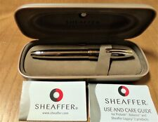 Sheaffer Legacy 2 Perspectives Collection Palladium Fountain Pen - M 18K (NOS)