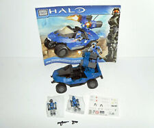 MEGA BLOKS Halo Blue Series Rockethog 97159 Complete Build Target Exclusive
