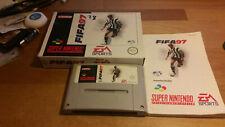 Fifa 97 Super Nintendo SNES OVP PAL CIB Boxed