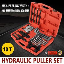 10 Ton Hydraulic Puller Set Separator Hub Gear Bearing sets tool kit