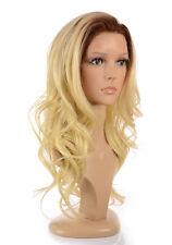 Perruque Olivia blonde doré longue bouclée Olivia | Mélange cheveux humains