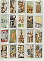 """CHURCHMAN Cigarette / Tobacco Cards """"TREASURE TROVE 1937""""  FULL VG 50 Card SET"""