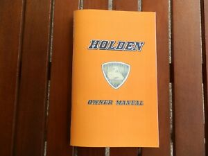 HOLDEN FC OWNERS MANUAL