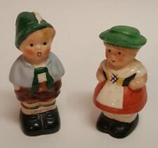 Bavarian Boy & Girl, Salt and Pepper figurines by Goebel