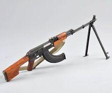 1/6 Soldier Figure Accessories Soviet RPK Machine Gun Rifle Weapon Model Toy