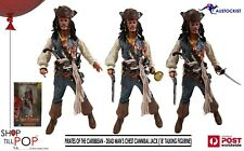 """PIRATES OF THE CARIBBEAN - DEAD MAN'S CHEST CANNIBALL JACK SPARROW 18""""  FIGURE"""