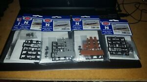 N Gauge 2mm scale Peco parkside Models wagon and chassis kits