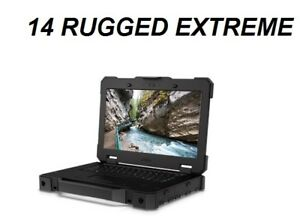 Dell 7404 Rugged Extreme W8.1 i5-2.6GHZ 500GB-SSD 16GB RAM 4G Bluetooth Touch