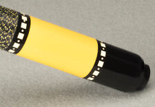 McDermott Lucky L73 Two-Piece Billiards Pool Cue Stick - Yellow + FREE CASE