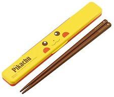 Skater Pokemon Pikachu Bento chopstick case set ABC3 made in Japan*