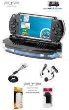 SONY PSP-1000 Black CFW + New Accessories - PRO C 6.61