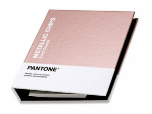 Pantone Metallic Chips Book Coated. All 655 Metallic Pantone Colours in one book