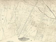Elizabeth NJ 1882  Maps with Businesses and Homeowners Names Shown