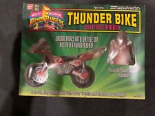 Mighty Morphin Power Rangers ~ Thunder Bike With Red Ranger (Bandai 1994)