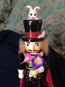 vintage magician nutcracker - charming for all seasons