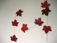 Sisal Herbstblatt Girlande Herbstblätter Herbst Dekoration Tischdeko Herbstdeko
