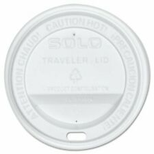Solo® Cup Company Traveler Drink-Thru Lid, White, Qua. 250 041165159998