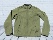 Men The NORTH FACE Green Apex Chromium Thermal Soft Shell Sweater Jacket Small