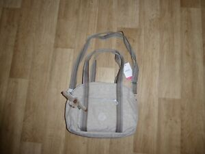 KIPLING Handtasche Umhängetasche Shopper mit Affe Beige **NEU**