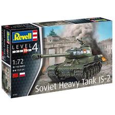 REVELL SOVIET HEAVY TANK IS-2 1:72 TANK MODEL KIT 03269