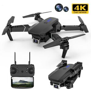 E525 Pro Rc Quadcopter Profissional Obstacle Avoidance Drone Dual Camera