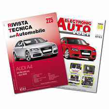1 Manuale tecnico riparazione/manutenzione  + 1 Manuale Diagnosi Auto Audi A4