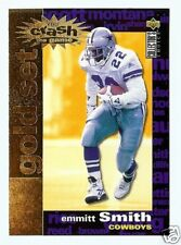 """95 COLLECTORS CHOICE """"CRASH THE GAME GOLD"""" EMMITT SMITH"""