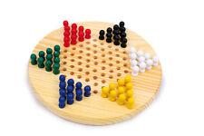 Dama cinese drago 60 pedine da 2 a 6 giocatori, base in legno diametro cm 21