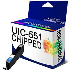 1 Cyan Chipped Ink Cartridge For Canon Pixma iP7250 MG5450 MG5550 MG6350 IX6850