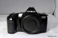 Usado Minolta Cámara con Película Maxxum 3000i SLR Solo Carcasa ( Sn 62311442)