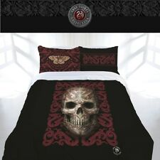 Skull Oriental Doona Cover Set Quilt Duvet Anne Stokes Bedding Bed Queen