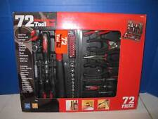 GREAT NECK GNSTK72 HOME & GARAGE 72 PC TOOL SET METRIC & SAE W/ CARRYING CASE